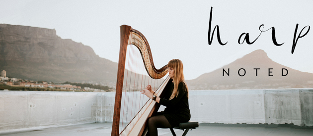 HarpNOTED - Jana van der Walt – Harpist performing at Weddings & Functions in and around Cape Town