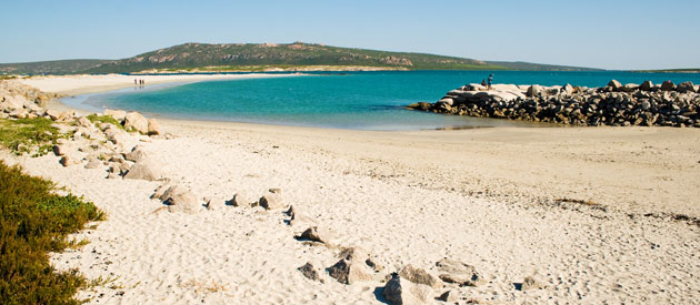 Yzerfontein is situated in the West Coast region of the Western Cape, South Africa.
